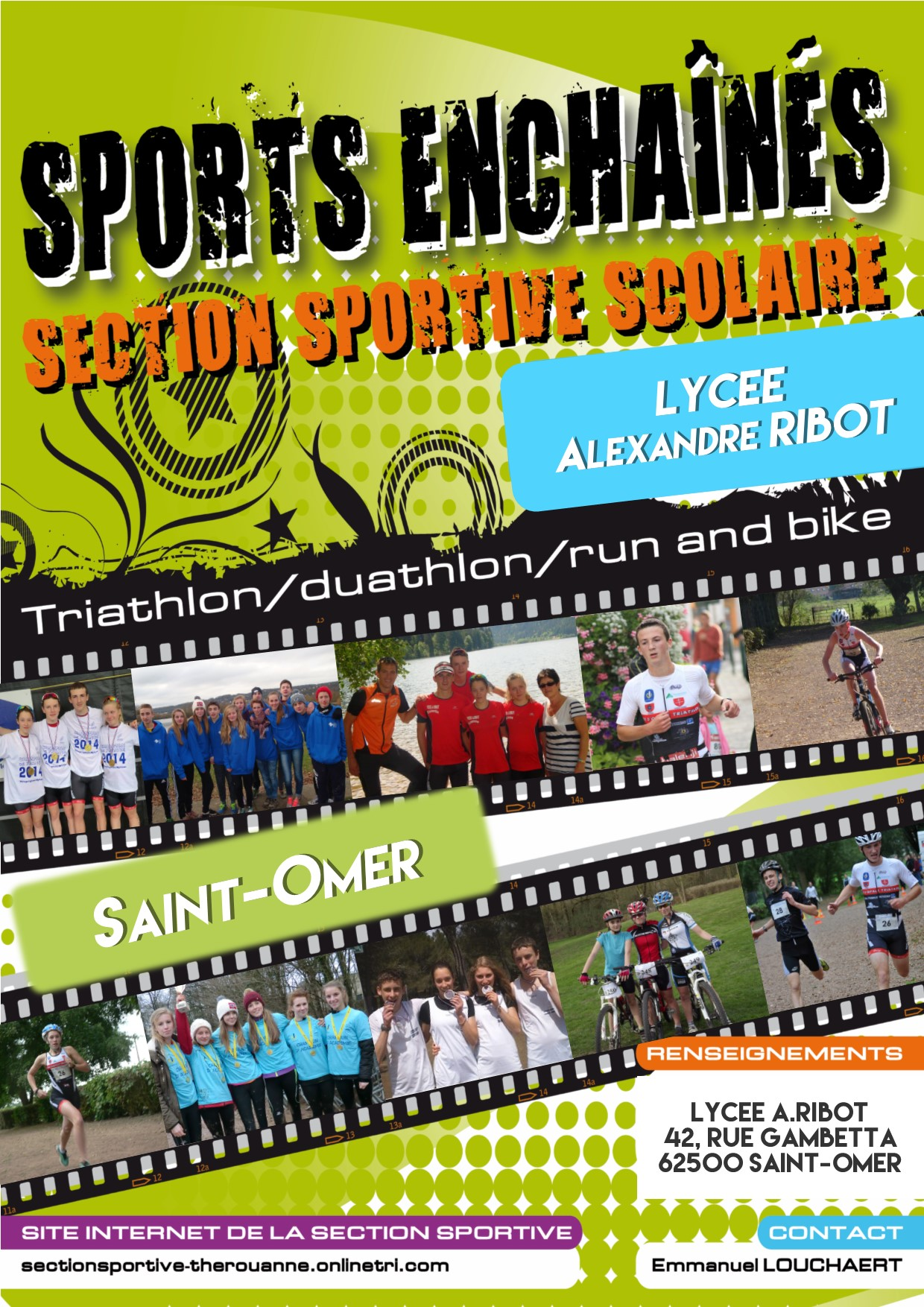Section sports enchaines